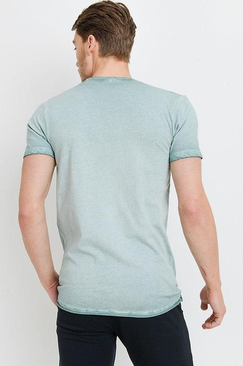 Henley Style T-shirt