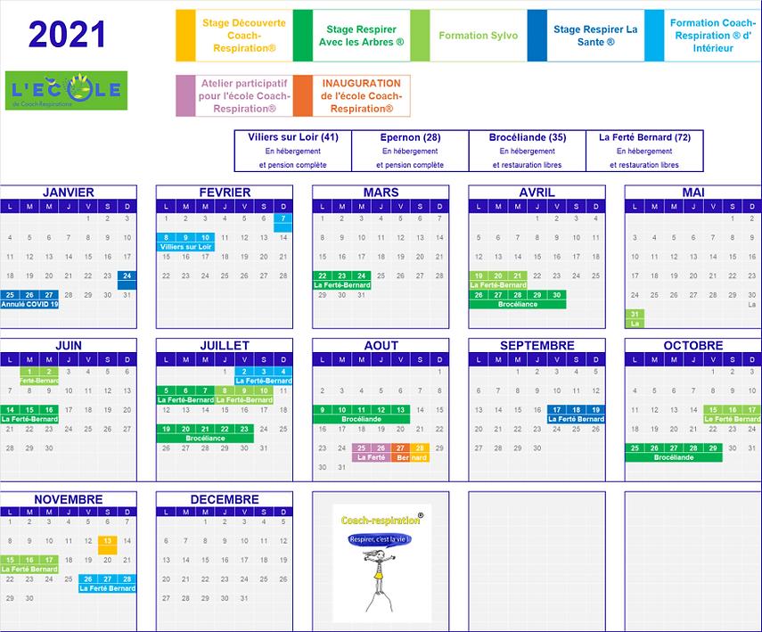 Calendrier stages et formations 2021 v2.