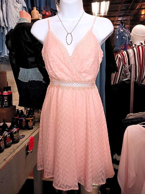 PeekABoo Mid Driff Sheer Dress