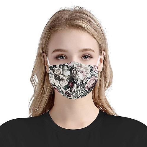 Rose Haven | 100% Soft Pima Cotton Triple Layer Face Mask