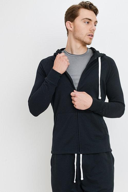 Men's Hooded Zip up Sweatshirt