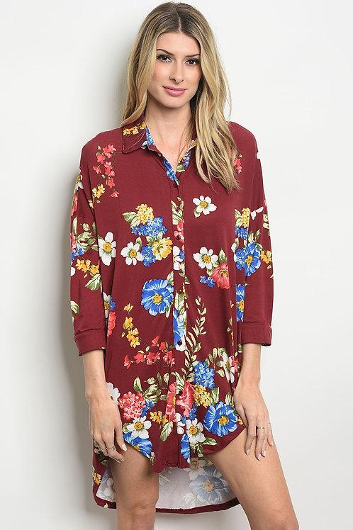Womens Floral Dress