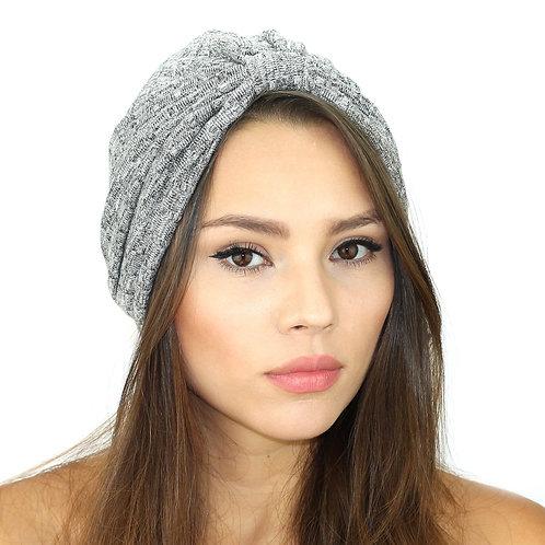 Rib Knit Sweater Turban