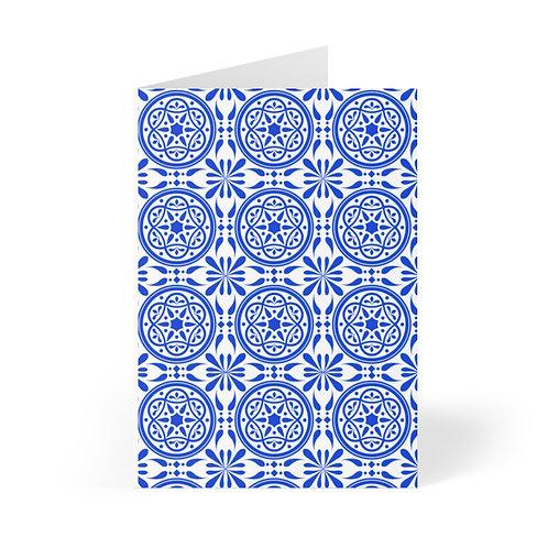 Azulejo Blank Note Card (8 pcs)