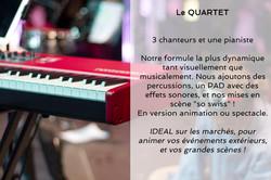 Le Quartet - Description