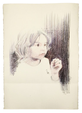 Boligrafo sobre papel. 50x70cm