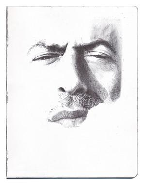 bolígrafo sobre papel. 16,5x21,5 cm