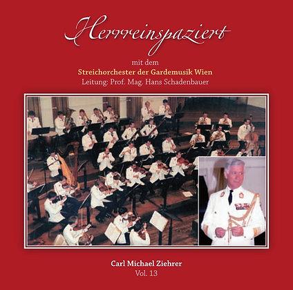 Herreinspaziert - Streichorchester der Gardemusik Wien - Vol. 13