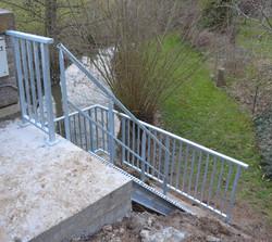 Sécurisation accès rivière
