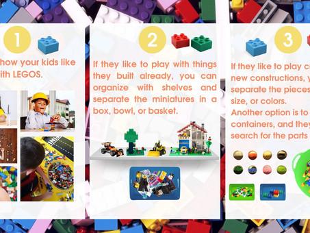 How to organize legos?
