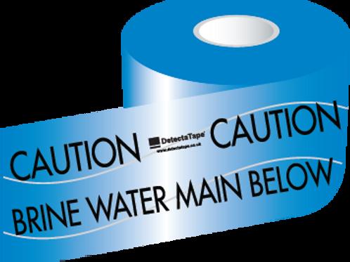 Brine Water Main