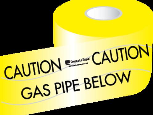 Gas Pipe Below