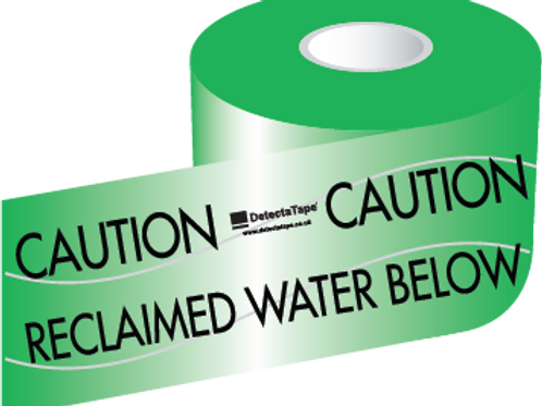 Reclaimed Water Below