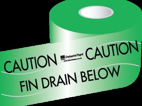 Fin Drain Below