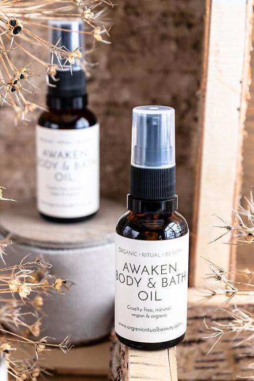 Awaken Body & Bath Oil 30ml