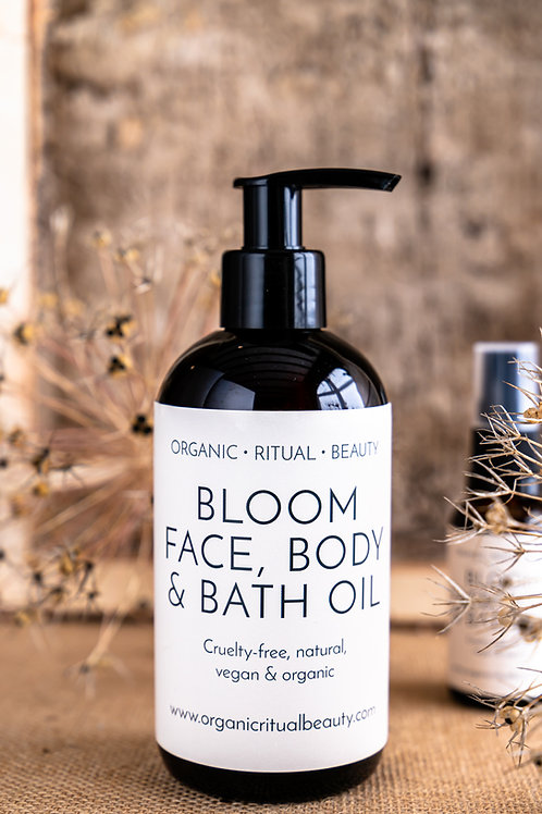 Bloom Face, Body & Bath Oil 250ml
