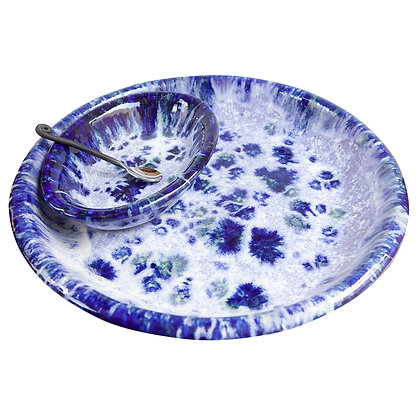 Circle Platter & Hummus Bowl Combo