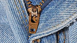 Zipper repair to Euro hems.