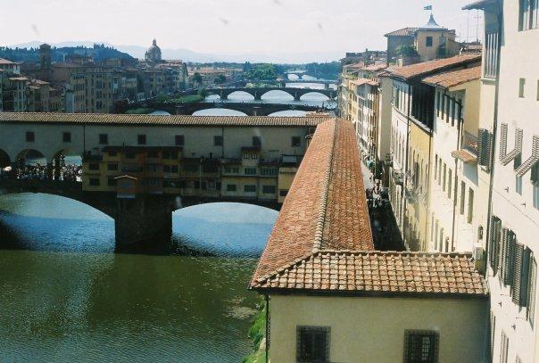 Florence from the Uffizi