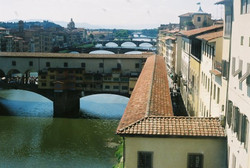 Florence from the Uffizi