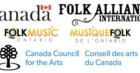 Folk Music Canada Announces 4th edition of FolkNorth
