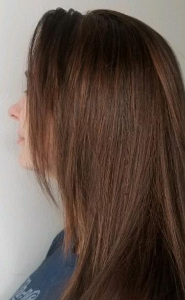 Dark Cherry Brown Hair Color.