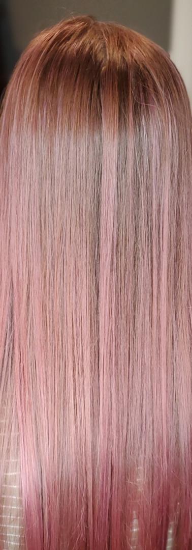 Rose Lavander Hair Color