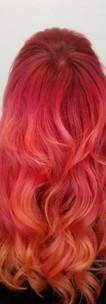 Red and Orange Color Melt