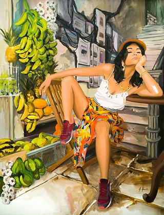 """Aurélie Quentin, """" La Cage aux fruits """""""