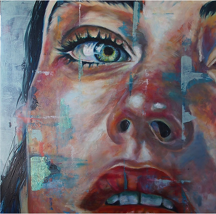 """Huile sur Toile, """" Every Day 3 """""""