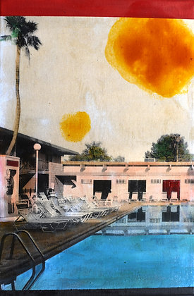 "Ayline Olukman, "" Pool Horizon #1 """