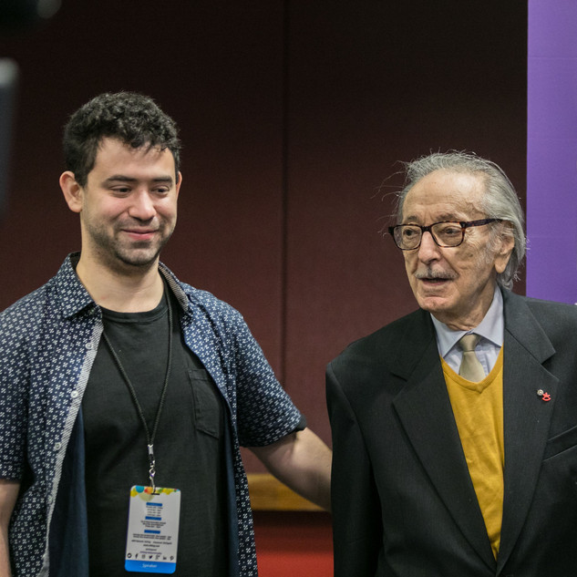 2019 Conference Ivan Moscovich and Alex