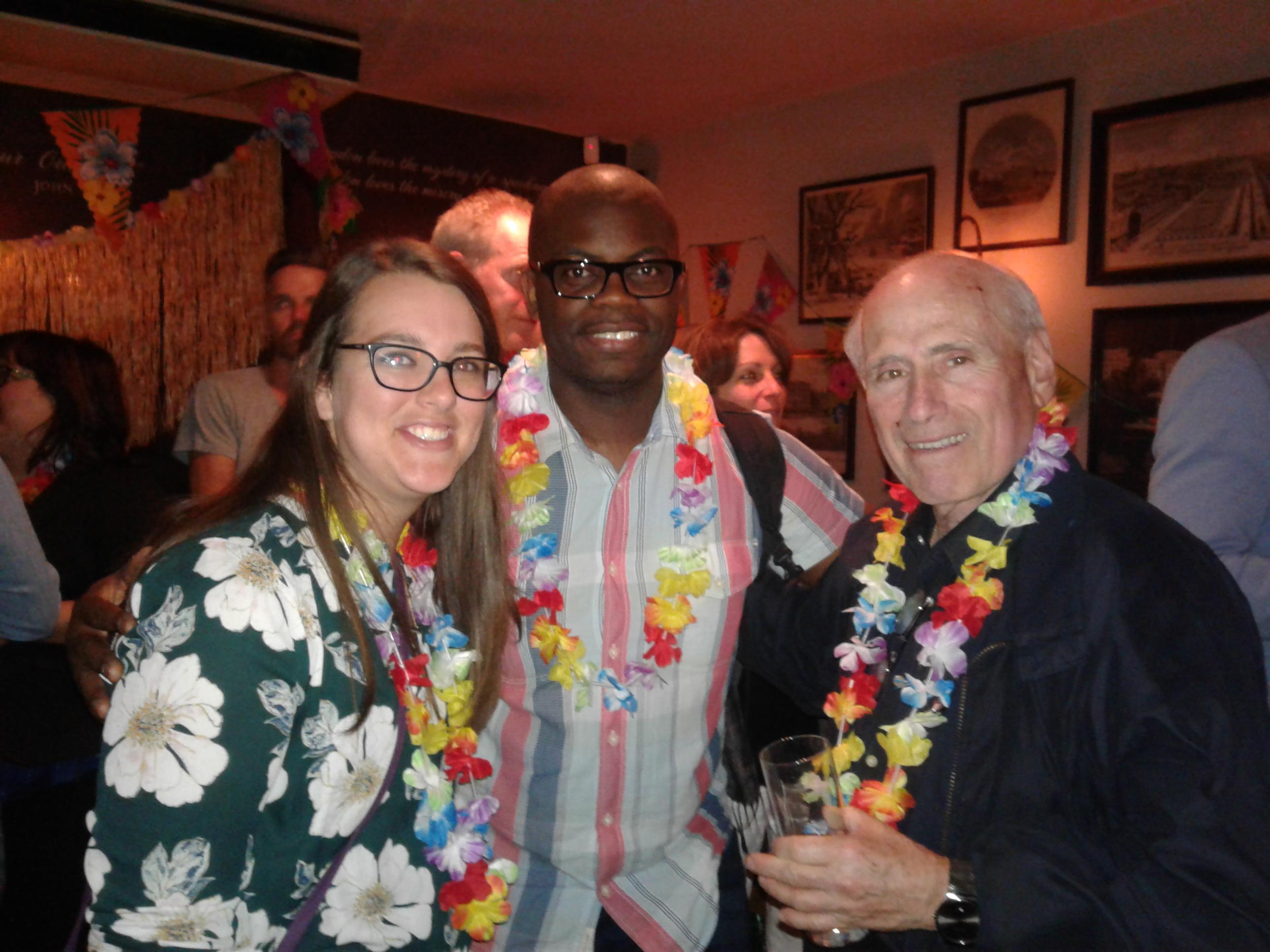 London Distoy 2018 Sara Farber, Robert Earl-Ocran, Michael Kohner