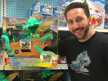 Dominic Yard - From Polly Pocket to Sea Monster Pirate Sets