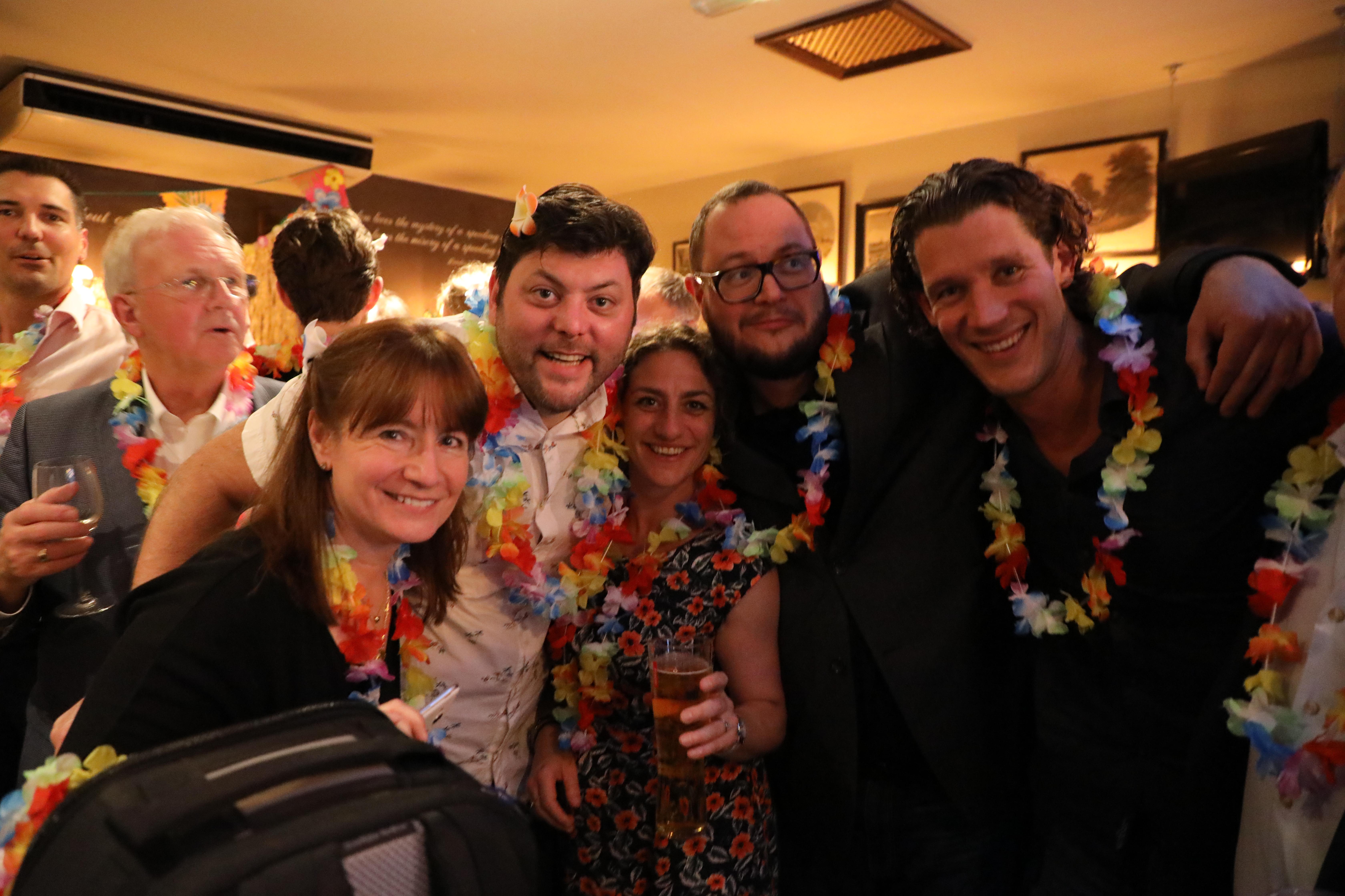 Distoy London 2018 Mike Moody, Mary, Gary Pyper, Eleanor Black, Joeri Hoste, JM