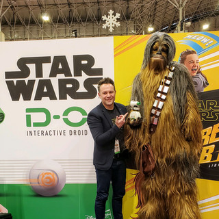 2019 Fair Phil Sage and Chewbacca and DO