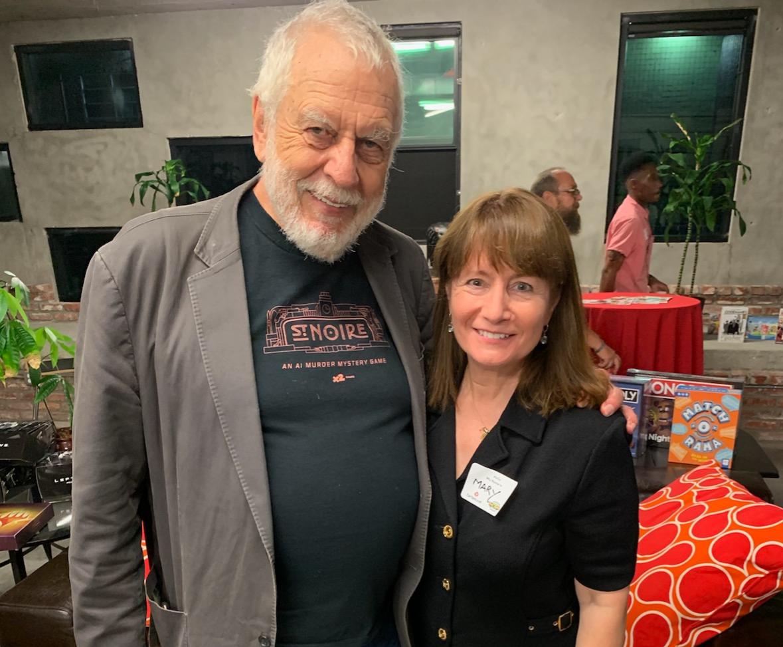 LA Sept 2019 event Nolan Bushnell and Ma