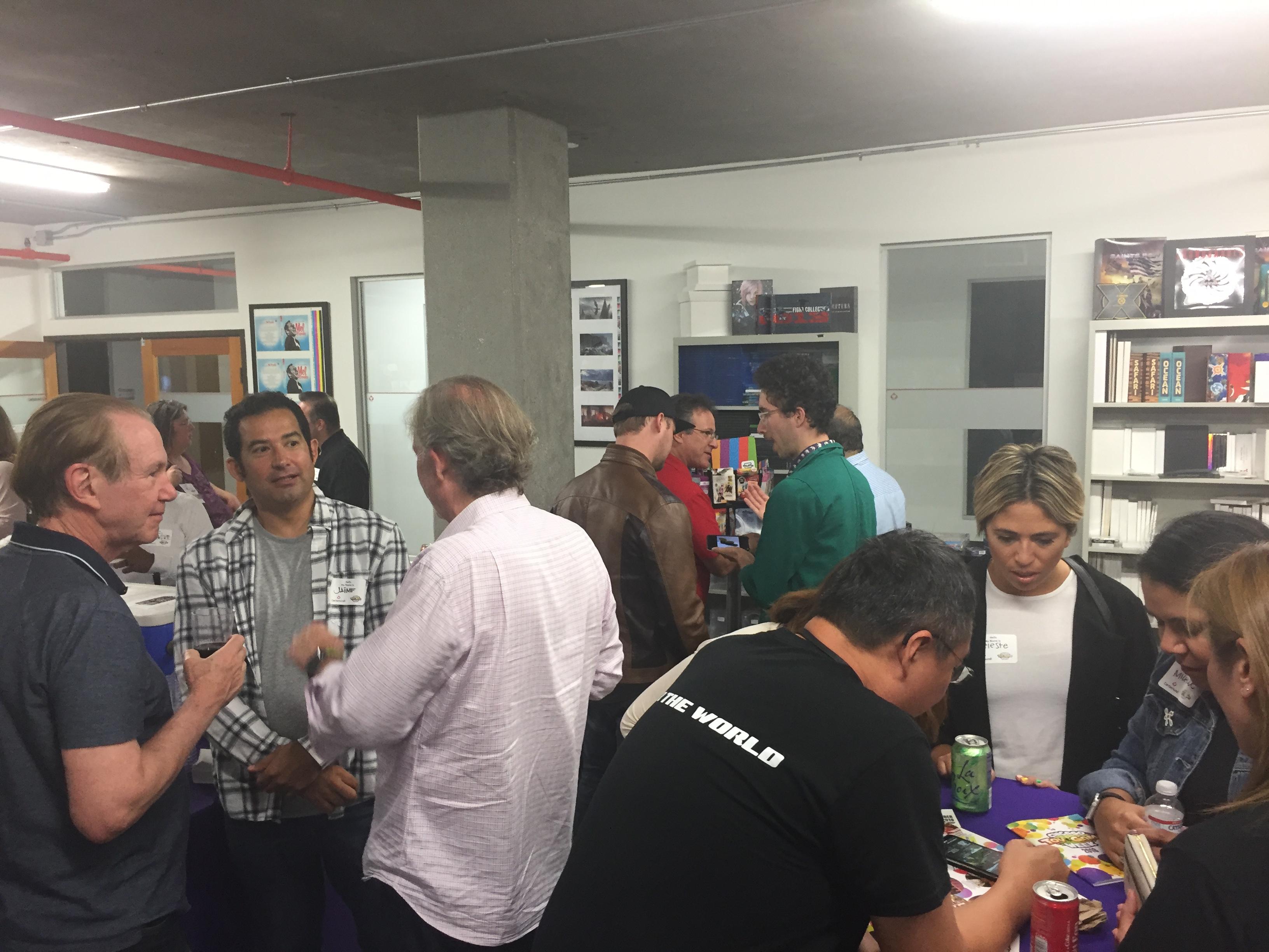 LA Sept 2019 event Charlie Albert in gro