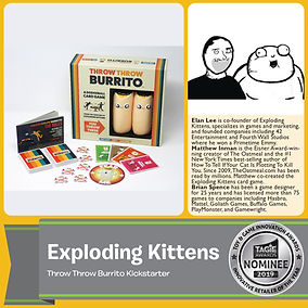 HGG 2019-Exploding Kittens-Innovative Re