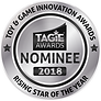 TAGIE Awards Nominee Seal - Rising Star