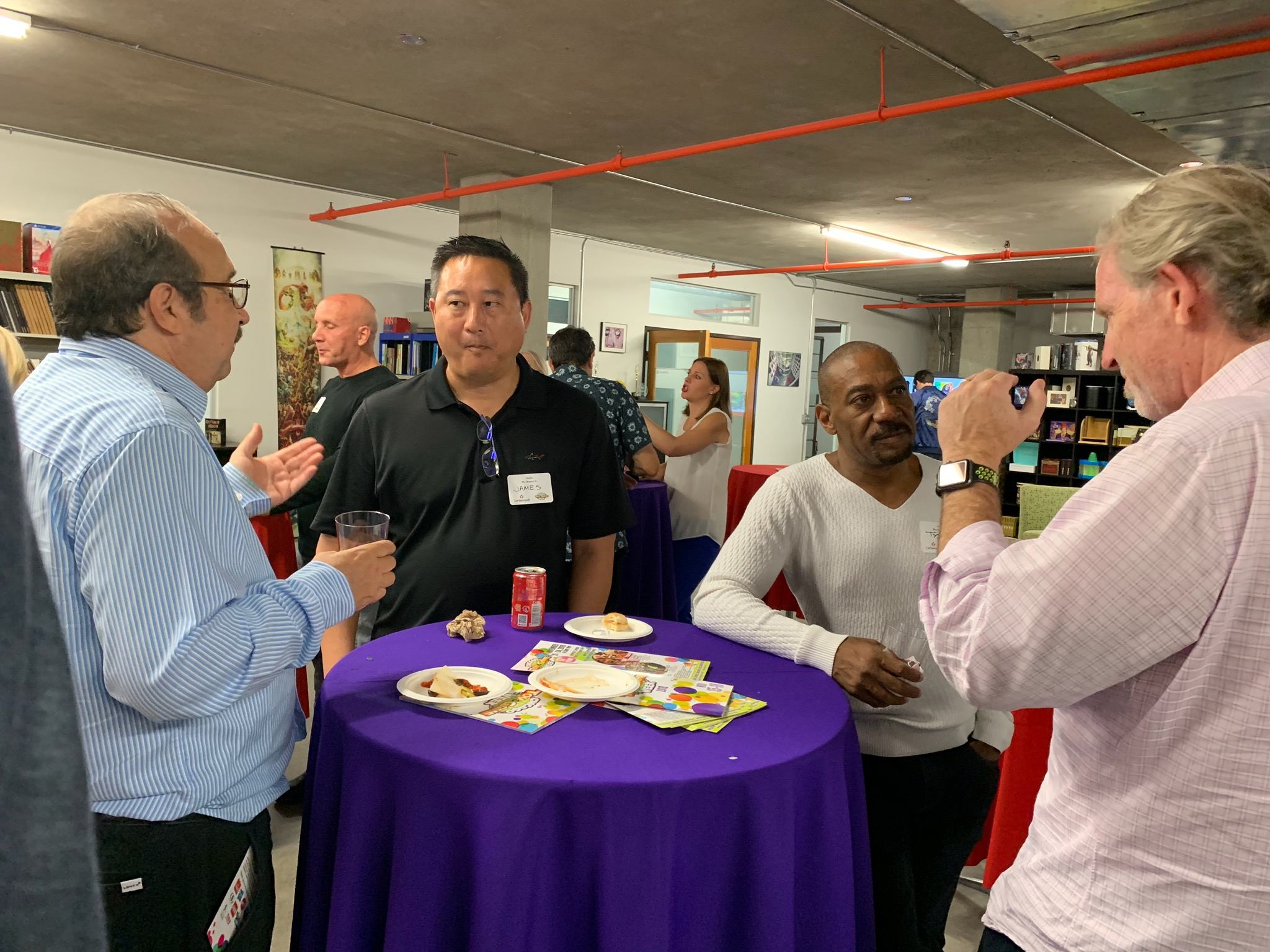 LA Sept 2019 event Paul Fish and others.