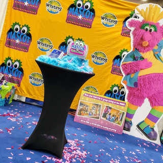2019 Fair Mascot Hall of Fame booth phot