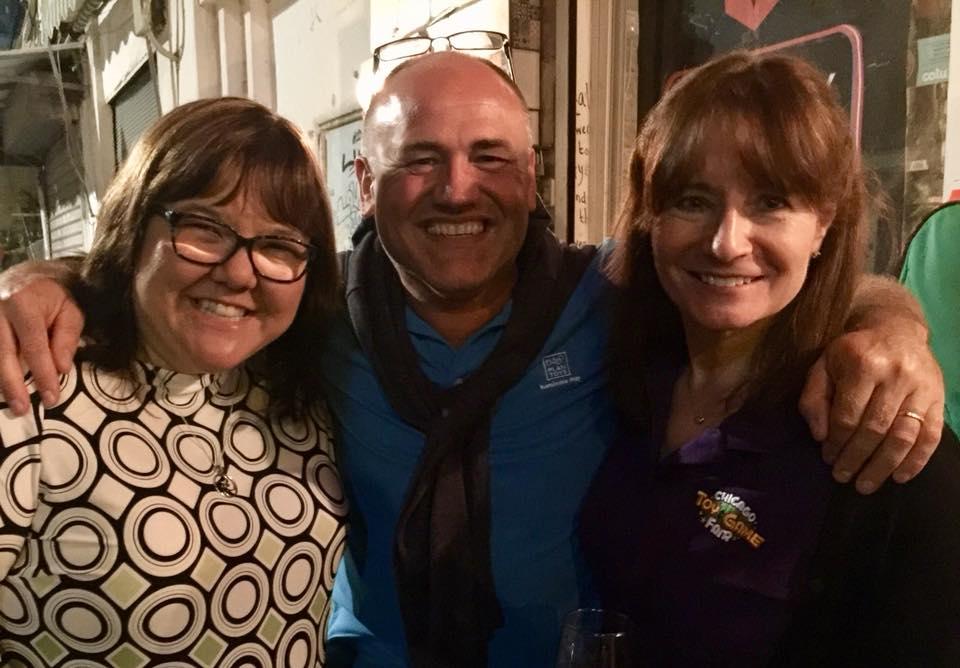 Tel Aviv event 2018 Tanya, Alain and Mary