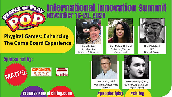 Phygital Games Enhancing The Game Board Experience  CHITAG POP Int'l Innovation Summit 202