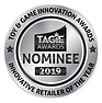 TAGIE Awards NomineeSeal - SILVER INNOVA