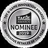 TAGIE Awards NomineeSeal - SILVER INNOVA