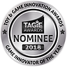 TAGIE Awards Nominee Seal - Game Innovat