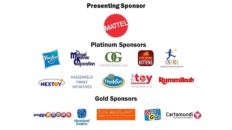2019 TAGIE Award logos for event program