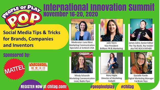 Social Media Tips and Tricks for Brands, Companies and Inventors CHITAG POP Int'l Innovati