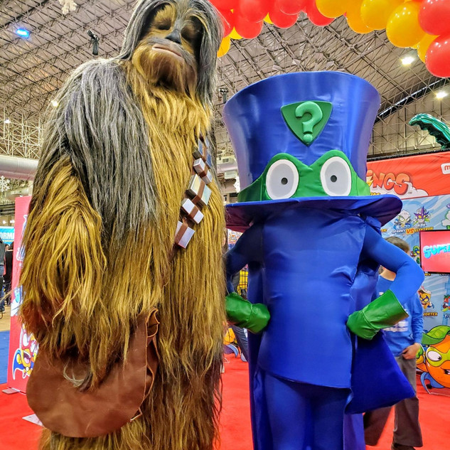 2019 Fair Chewbaca and SuperThing.jpg